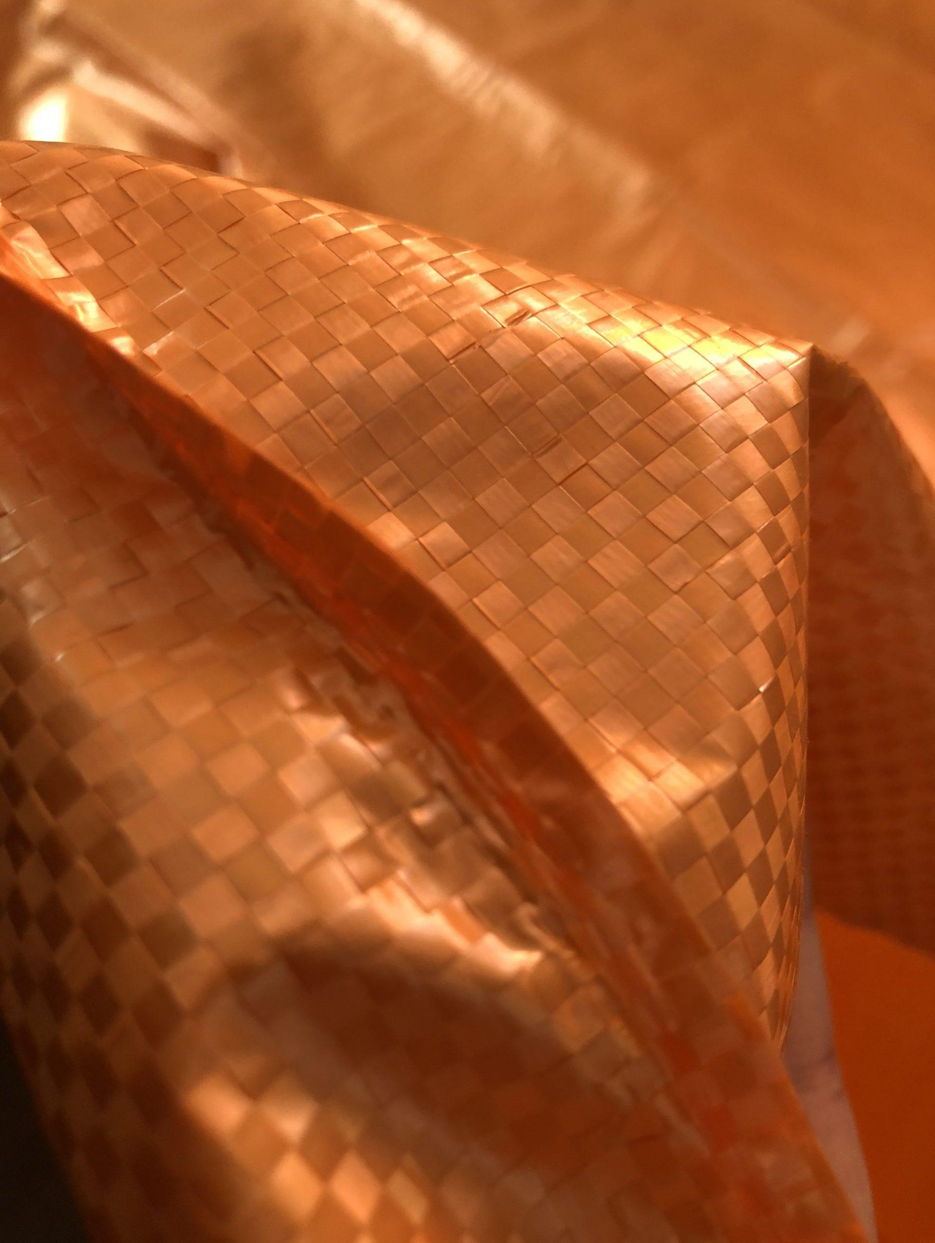 Bändchengewebe orange
